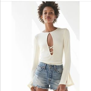 NWT Urban Outfitters Plunging top